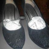 Замшевые туфли. Фото 2. Котельники.