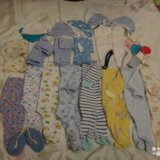 Вещи для малыша рр56-60. Фото 1.