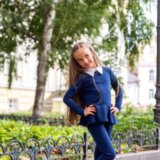 Детский костюм ( кофта+лосины). Фото 1. Москва.