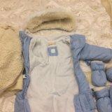 Зимний детский комбинезон-транформер 64-74. Фото 2.