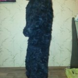 Шуба из стрижанного бобра. Фото 1.