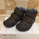 Детские демисезонные ботинки geox. Фото 1. Долгопрудный.