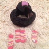Шапочка и носочки. Фото 1.