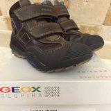 Детские демисезонные ботинки geox. Фото 2. Долгопрудный.