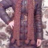 Пальто ( на девочку 9- 12 лет.). Фото 1.