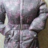 Куртка зимняя на девочку, лет 7-8. Фото 1.