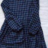 Платье в клетку. Фото 1.