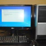 Компьютер. хорош в работе. можно целиком. Фото 1.