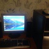 Компьютер. полный комплект. Фото 1. Москва.
