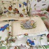 Бортик на кроватку. Фото 1.