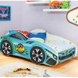 Кровать auto cars 140x70. Фото 2.