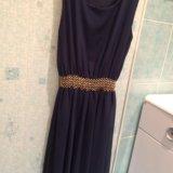 Платье темно-синего цвета. Фото 1. Иваново.