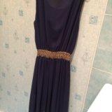 Платье темно-синего цвета. Фото 2. Иваново.