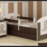 Кровать 140/70 oskar baby boo. Фото 1.