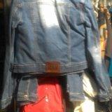 Пиджак джинсовый. Фото 2.