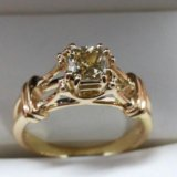 Помолвочное кольцо. Фото 1.