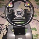 Игровой руль для компьютера. Фото 1. Сергиев Посад.
