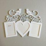 Фоторамка на свадьбу или для влюблённых. Фото 1.