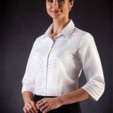 Белая блузка 48 размер. Фото 1.