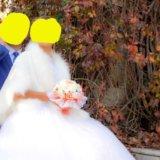 Свадебная шубка. Фото 1.