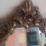 Старинное зеркало в бронзовой раме из франции. Фото 2. Санкт-Петербург.