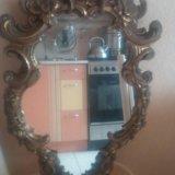 Старинное зеркало в бронзовой раме из франции. Фото 4. Санкт-Петербург.