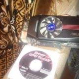 Видеокарта radeon hd7770, 1g с диском.. Фото 1.