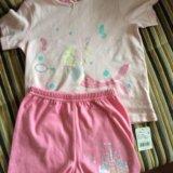 Новая пижама mothercare для девочки. Фото 1.