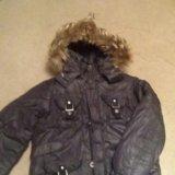 Зимняя куртка  на рост 140. Фото 1.