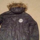 Зимняя куртка  на рост 140. Фото 2.