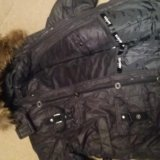 Зимняя куртка  на рост 140. Фото 3.