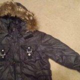 Зимняя куртка  на рост 140. Фото 4.