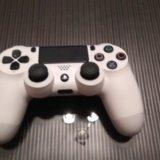 Sony dualshock 4 белый. Фото 2. Щёлково.