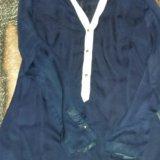 Отдам просвечивающую блузку за шоколадку :з. Фото 1. Киров.