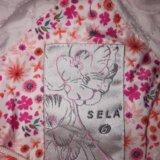 Куртка белая ф.sela на рост 110-116 см б/у,. Фото 3.