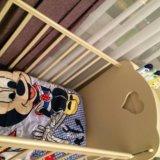 Кроватка-трансформер детская annette makaby. Фото 1.