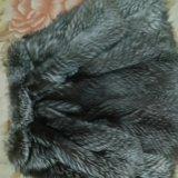Шуба чернобурка. Фото 1.