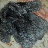Шуба чернобурка. Фото 3.