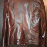 Кожаная куртка. Фото 2. Рязань.