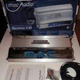 Усилитель mac audio maximus 4.80. Фото 1. Краснодар.