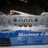 Усилитель mac audio maximus 4.80. Фото 3. Краснодар.