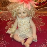 Фарфоровая кукла. Фото 2.