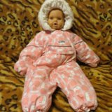 Детский зимний комбинезон lenne baby (размер 68). Фото 1.