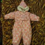 Детский зимний комбинезон lenne baby (размер 68). Фото 4.