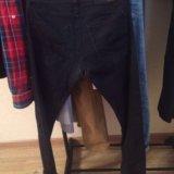 Брюки-джинсы и куртка. Фото 1.