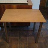 Новый кухонный стол. Фото 1.