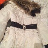 Нарядная куртка с воротником лисы обен можно. Фото 2. Москва.