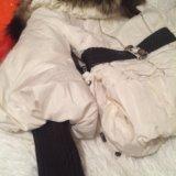 Нарядная куртка с воротником лисы обен можно. Фото 3. Москва.
