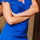 Синее платье. Фото 2. Санкт-Петербург.