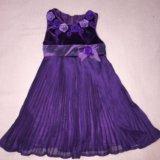 Комплект нарядный платье и болеро ф.de salitto 110. Фото 4.